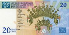 20 ZLOTY 300th Ann. of the Coronation of the Icon of Our Lady of Czestochowa