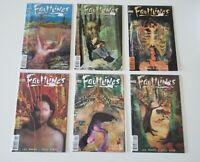 Faultlines 1 2 3 4 5 Complete DC Vertigo 1997 Set Series Run Lot 1-5 VF/NM