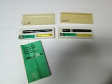 Lot of 2 Vintage A. W. Faber-Castell TG Germany (2.5 0.6) (2 0.5)  Drawing Pen