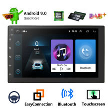 Android 9.1 Car Stereo GPS Navigation Radio Player Double Din WIFI 7 Inch USB