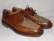 Mezlan Ragusa Brown Leather Velvet Calf Oxfords Men's SZ 10.5 M