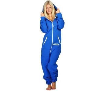 Lazzzy ® Ocean Blue Jumpsuit Onesie Overall Einteiler Anzug Damen Herren Unisex