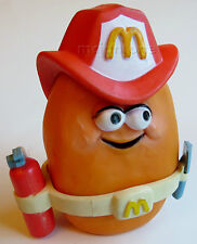 LOOSE McDonald's 1988 McNugget Buddies SPARKY Fireman Fire Fighter Nugget Buddy