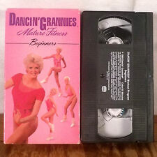 Dancin' Grannies Mature Fitness Beginners VHS Tape Movie Film Exercise Workout