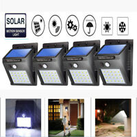 25 LED Solar Motion Sensor PIR Waterproof Wall Light Outdoor Garden Yard Lamp