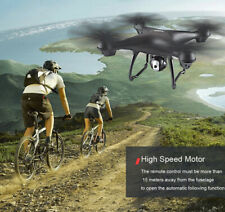 SJRC 2.4G Dual GPS WIFI FPV Drone Quadcopter with 1080P HD Camera Headless New