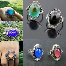 Changing Color Ring Temperature Emotion Feeling Mood Rings Adjustable Size NEW