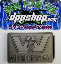 Western Star truck Belt buckle relpacment latch semi emblem trucker diesel gear