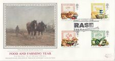 (01501) GB PPS Sothebys FDC Nourriture & Agriculture RASE Stoneleigh 7 Mars 1989