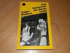 Das Geheimnis der Stecknadel, Edgar Wallace, gebraucht, guter Zustand.