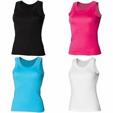 Plus Size Crew Neck Sleeveless Tops & Shirts for Women