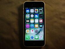 White Apple iPhone 5c CDMA+GSM Unlocked 8GB model A1532                      x9a