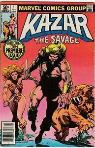 Kazar the Savage #1 - Marvel - Bronze Age - Low Grade - VG