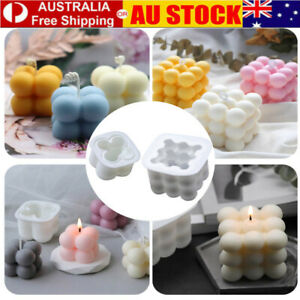 DIY Candles Mould Soy Wax Candle Mold Aromatherapy Candle 3D Silicone Moulds
