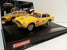 Slot car SCX Scalextric Carrera 25736 Evolution Aston Martin DB5 Historic Racer