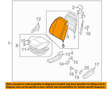 Chevrolet GM OEM 09-11 Aveo5 Front Seat-Cushion Cover-Top Back Right 96807989