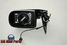BMW E38 RIGHT HEATED MIRROR WITHOUT GLASS GLOSS BLACK 51167892130
