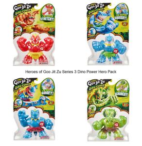 Heroes of Goo Jit Zu Series 3 Dino Power Hero Pack