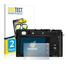 2x Displayschutz Klar für Fujifilm Instax Square SQ10 Schutzfolie Displayfolie