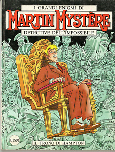 I Grandi Enigmi di Martin Mystère N.201 1999! Il Trono di Hampton Ottimo Bonelli