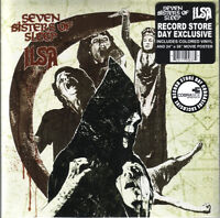"Seven Sisters Of Sleep / Ilsa ‎– Messiah And The IVth Crusade Red 7"" Vinyl  NEW"