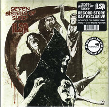 "Seven Sisters Of Sleep / Ilsa ‎– Messiah And The IVth Crusade on Red 7"" Vinyl"