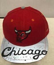 Chicago Bulls Snapback Hat 2018-19 SGA Artist Series #2 12/21/18 CHema Scandal!