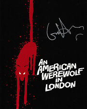 GRIFFIN DUNNE AUTHENTIC WEREWOLF LONDON SIGNED 10X8 POSTER AFTAL & UACC [14306]