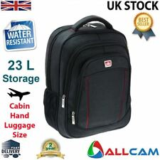 "Allcam 15.6"" Laptop Backpack Rucksack Water Resistant w/ Padded front & back"