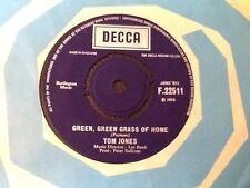 TOM JONES . GREEN GREEN GRASS OF HOME  . 1966 . U.K. Number 1 Hit