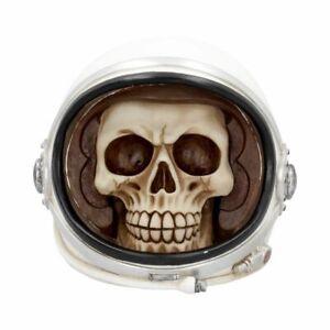 First Man Astronaut Skull Money Box (17.5cm)