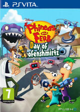 "Juego Sony PS Vita ""Phineas and Ferb"""