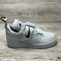NIKE AIR FORCE 1 UTILITY WHITE size UK 11 US 12 EUR 46 AO1531 101 AF1