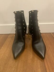 Valentino Rockstud Ankle Booties Size 41.5