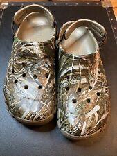 NEW CROCS BAYA Realtree Extra Camo Clogs Slip On Shoes : Mens Size 12 206517-260