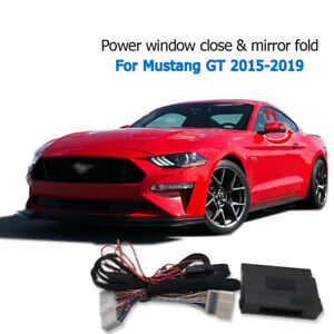 Car Automatic window close and mirror folding Module For mustang GT 2015-20