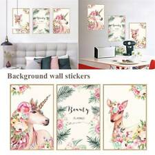 Unicorn PVC Vinyl Art Wall Sticker Decal Living Room Home Wall Removable Decor