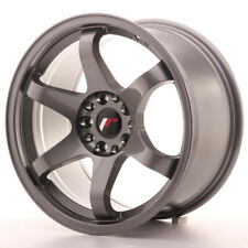 Japan Racing JR3 Alloy Wheel 17x9 - 4x108 / 4x114.3 - ET25 - Gun Metal