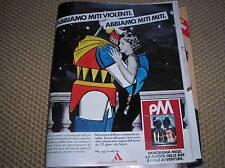 MARILYN MONROE JAPON ROBOT PSEUDO GOLDRAKE MAZINGA 1983 PUBLICITÉ LA PUBLICITÉ