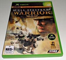 Full Spectrum Warrior Xbox Original PAL *Complete*