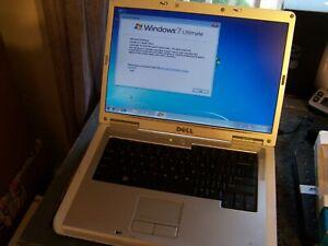 """Dell Inspiron 1501 15.4"""" Laptop w/ AMD Turion 64 1.79GHz 1GB RAM 80GB HD Windows"""