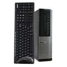 Dell Desktop Computer 16GB RAM 2TB HD Intel i5 Quad Core Windows 10 Pro PC Wi-Fi