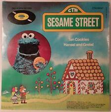 Sesame Street Cookie Monster Children's Workshop MINT Factory Sealed 45 Record