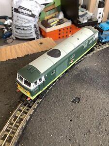 hornby dublo 3 rail Compatible Hymek Class35 & 2 Wagons Excellent Runner& Det