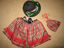 Victorian Dickens Edwardian regency caroling costume bonnet/CAPE accessories