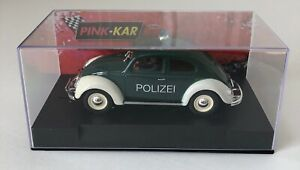 Pink-Kar CV021 VW Beetle Police 1/32 Scale Slot Car