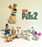 The Secret Life of Pets 2 Movie Figure Set of 10 Old / All New Characters
