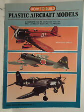 KALMBACH #12072 HOW TO BUILD PLASTIC AIRCRAFT MODELS BY ROSCOE CREED