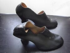 Vintage 1940's Ladies Goodyear Rubber Galoshes With Heels, Size 4 1/2