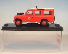 Verem / Solido 1/43 Land Rover 109 Pompiers in Plexi Box #4001